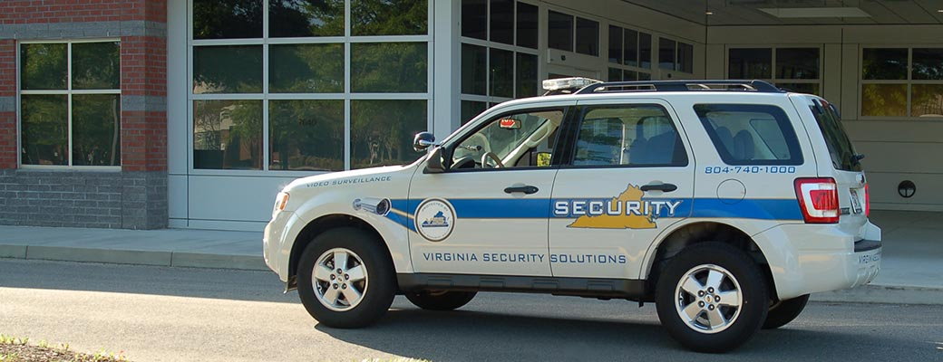 Virginia Security Solutions Truck